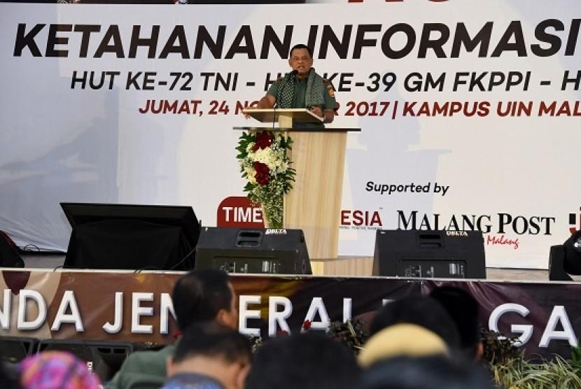 Panglima TNI: Indonesia Rawan Jadi Sasaran Proxy War