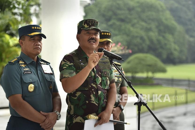 Panglima TNI Masih Seleksi Calon KASAU Baru