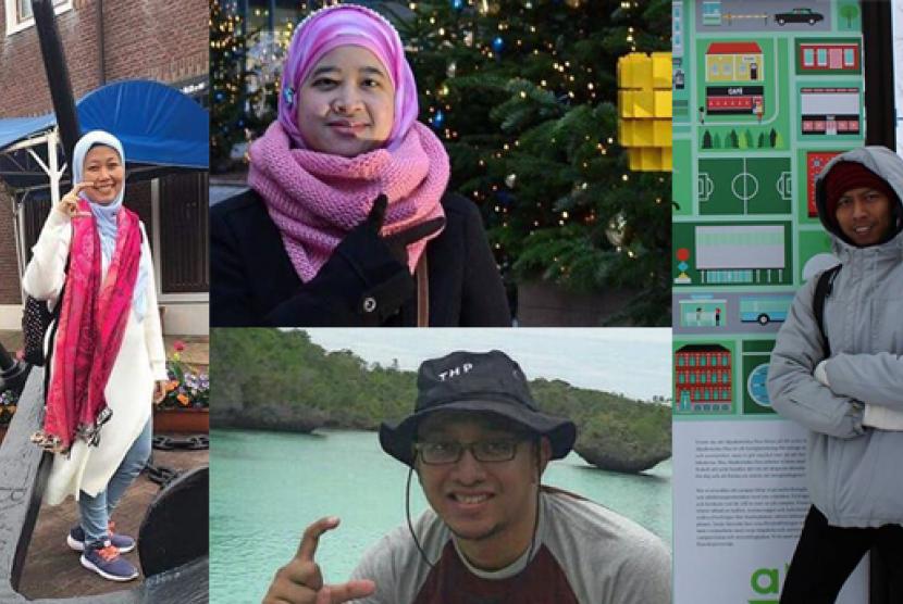 Para dosen muda Departemen Teknologi Hasil Perairan IPB.