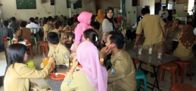 Para Pegawai Negeri Sipil atawa PNS (ilustrasi).