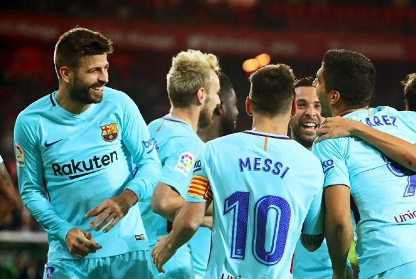 Hasil dan Klasemen La Liga, Barcelona Jaga Posisi Puncak
