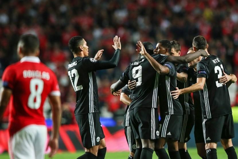 Gol Rashford Bawa Manchester United Bekuk Benfica