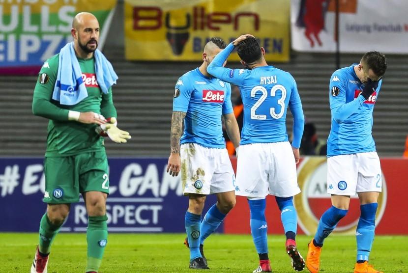 Para pemain Napoli.