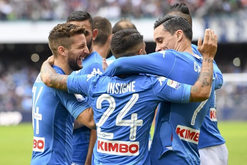 Napoli Kembali Pimpin Klasemen Serie A Pekan ke-11 2017/2018