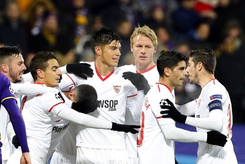 Sevilla Dampingi Liverpool Lolos ke Babak 16 Besar