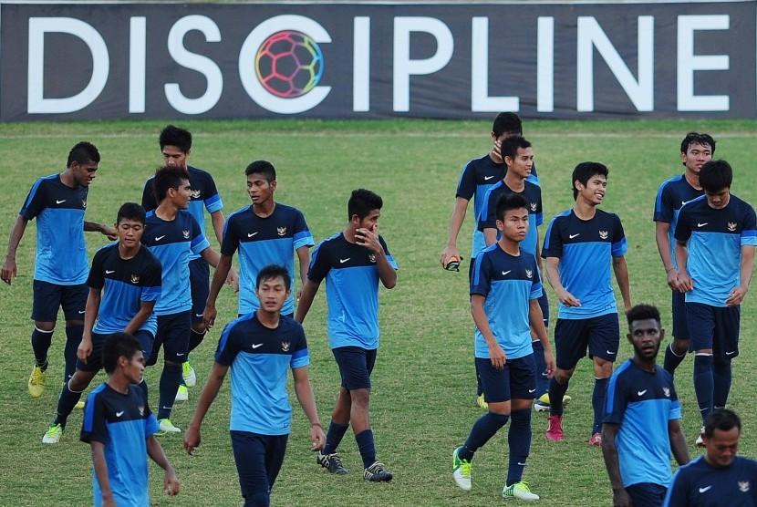 Para pemain Timnas Indonesia U-19.