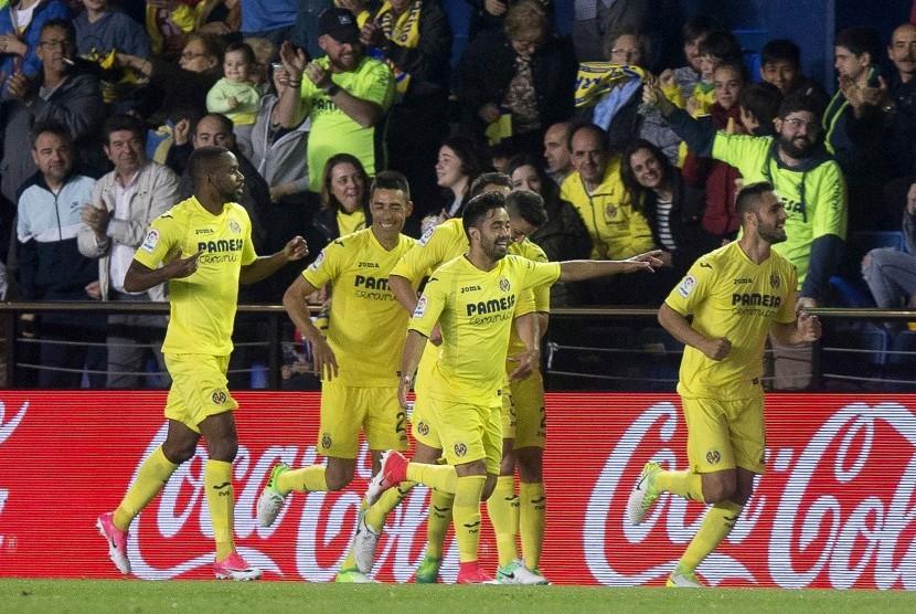 Para pemain Villarreal (ilustrasi)