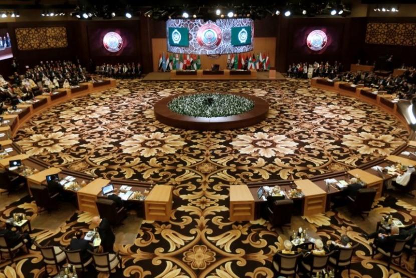 KTT Liga Arab Jamin Pembentukan Negara Palestina