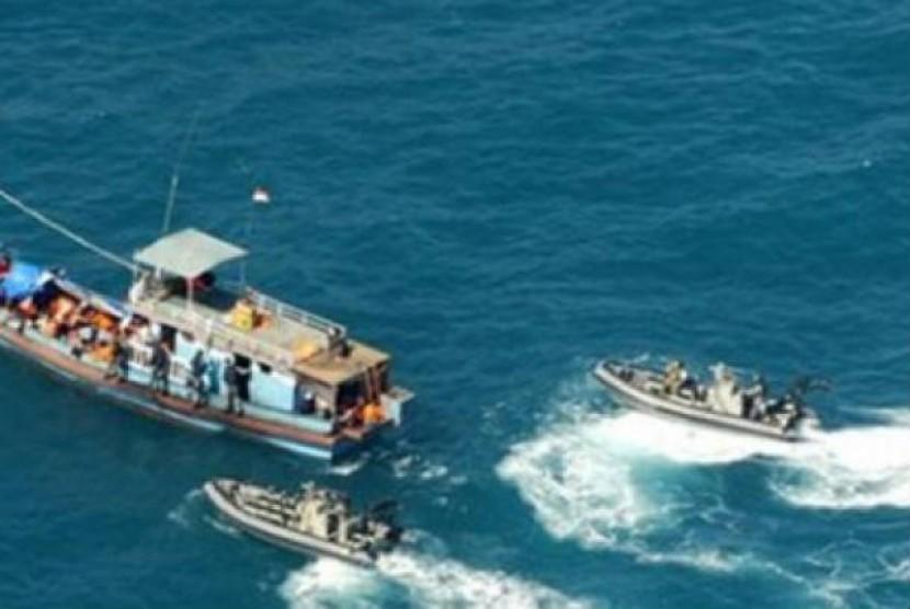 Para pencari suaka ke Australia