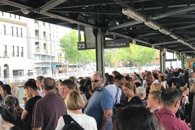Pekerja Kereta Sydney Ancam Mogok 24 Jam pada 29 Januari