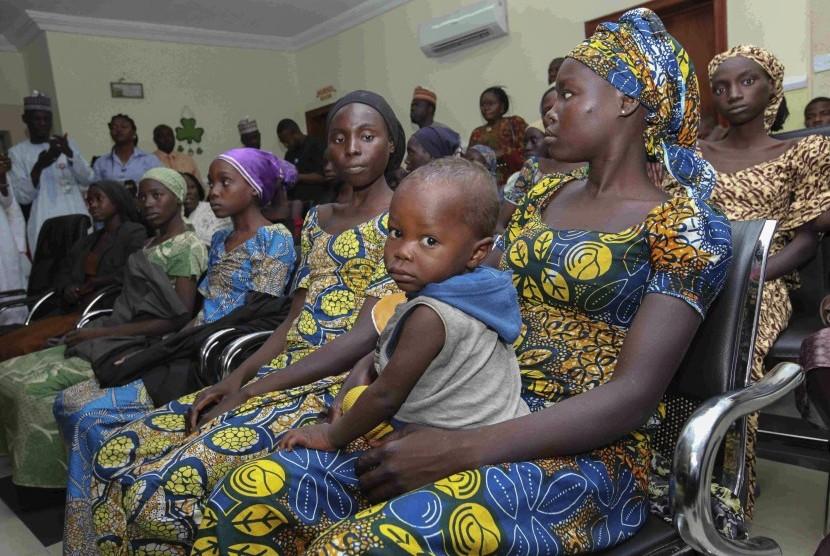 Para perempuan tawanan Boko Haram dilepaskan. (ilustrasi)