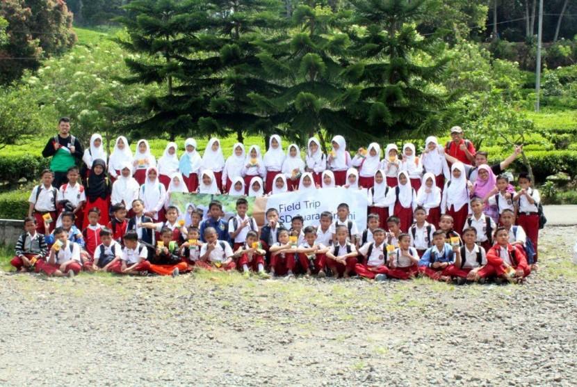 Para Siswa SD Juara Cimahi Ikuti Kegiatan Field Trip