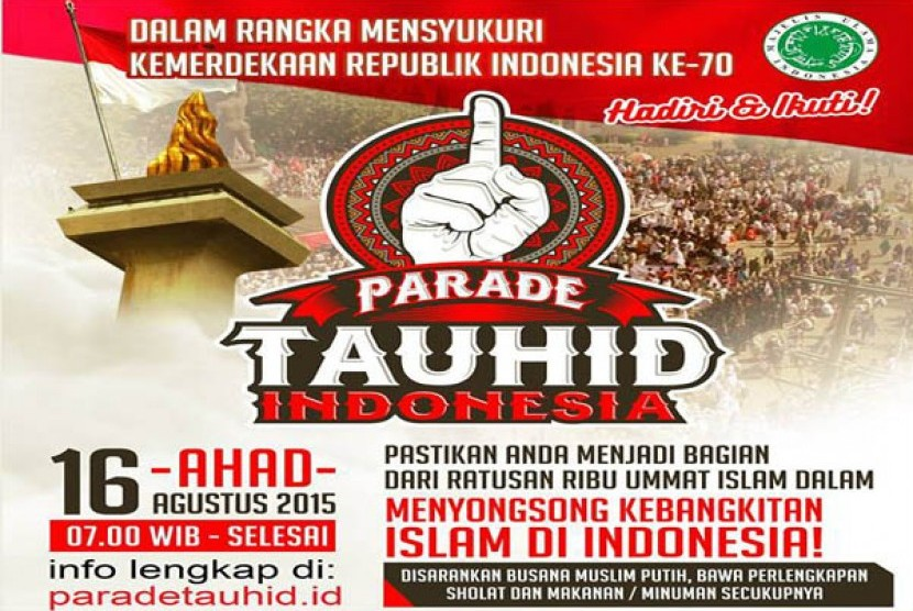 Parade Tauhid Indonesia 2015
