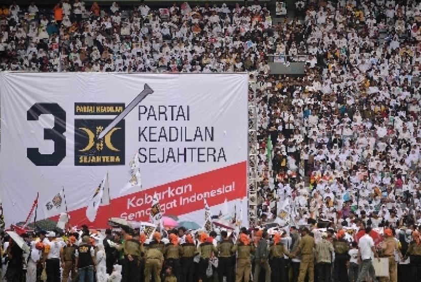 Partai Keadilan dan Sejahtera (PKS).