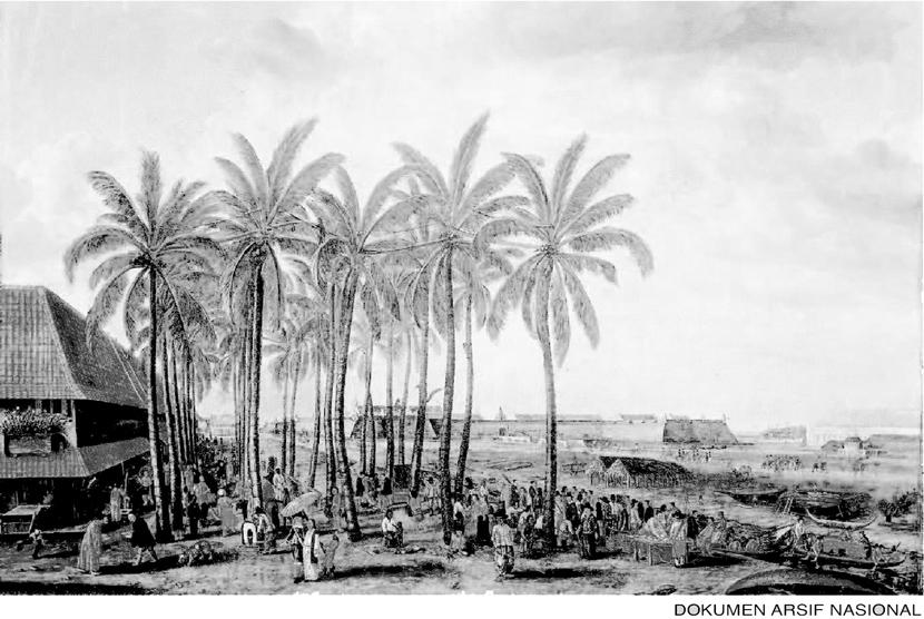 Pasan dan Benteng Batavia Abad ke-17