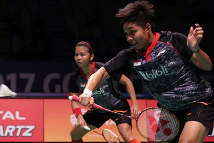 Wow, Greysia/Apriani Jungkalkan Runner-up Juara Dunia 2017