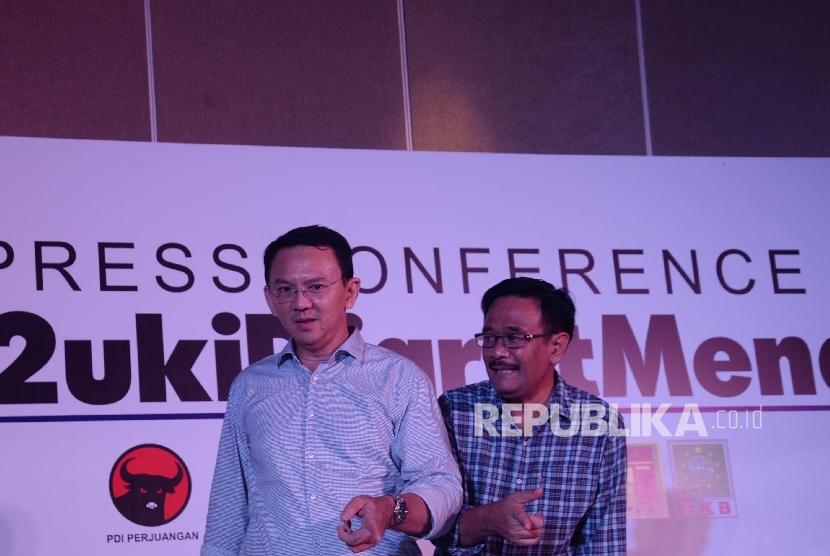 Pasangan calon nomor urut dua Basuki Tjahaja Purnama (Ahok)-Djarot Saiful Hidayat.