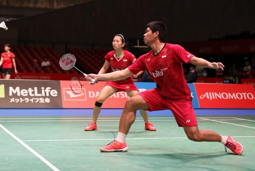 Pasangan ganda campuran Indonesia, Praveen Jordan/Debby Susanto.