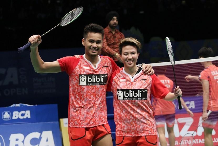 Pasangan ganda campuran Indonesia, Tontowi Ahmad/Liliyana Natsir