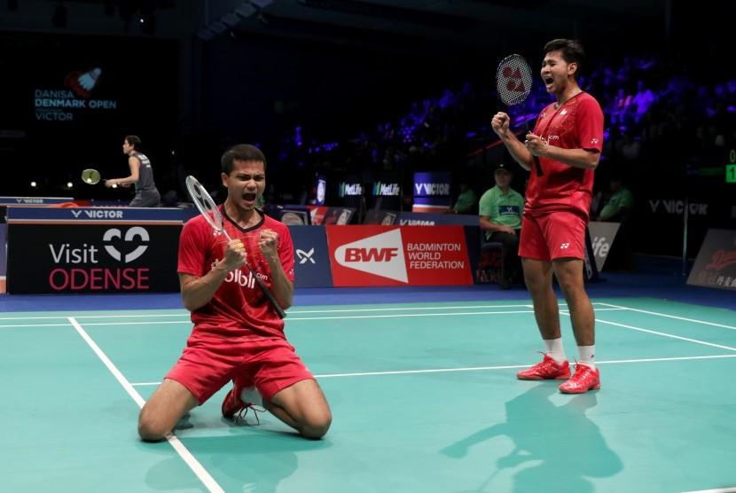 Pasangan ganda putra Indonesia, Angga Pratama/Ricky Karanda Suwardi