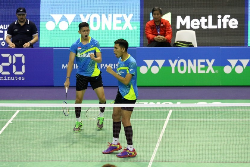 Pasangan ganda putra Indonesia, Fajar Alfian/M Rian Ardianto