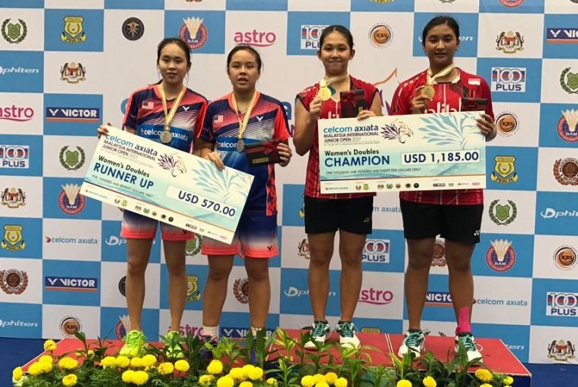 Indonesia Terlalu Perkasa di Malaysia Junior