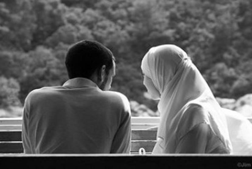 Pasangan Muslim (Ilustrasi)