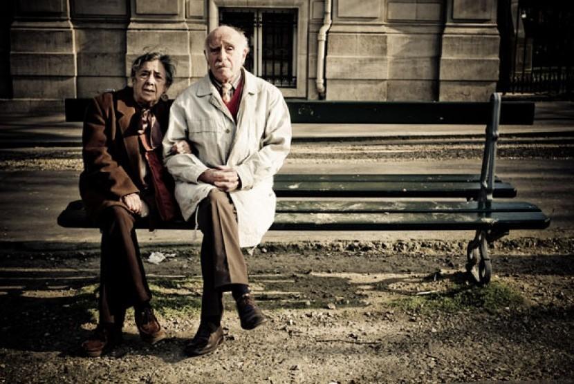 Pasangan panjang umur/ilustrasi