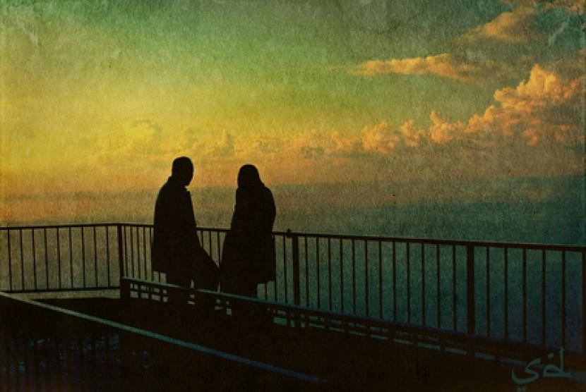 istri beribadah sunah perlu izin suami republika online