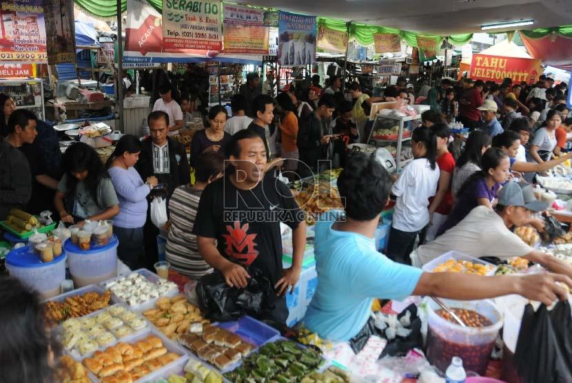 Pasar Kuliner Ramadhan (ilustrasi)