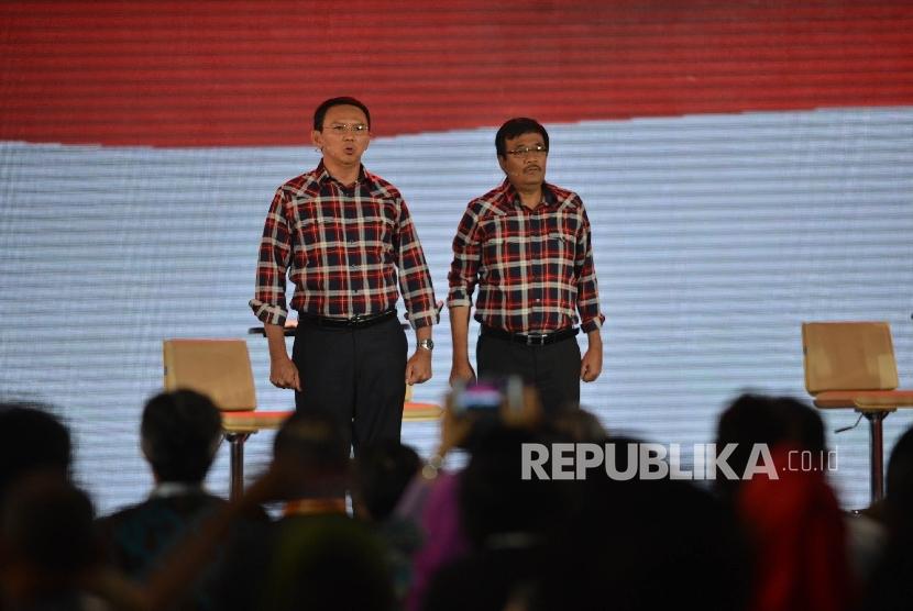 Paslon Cagub dan Cawagub DKI Jakarta nomor urut 2 Ahok-Djarot