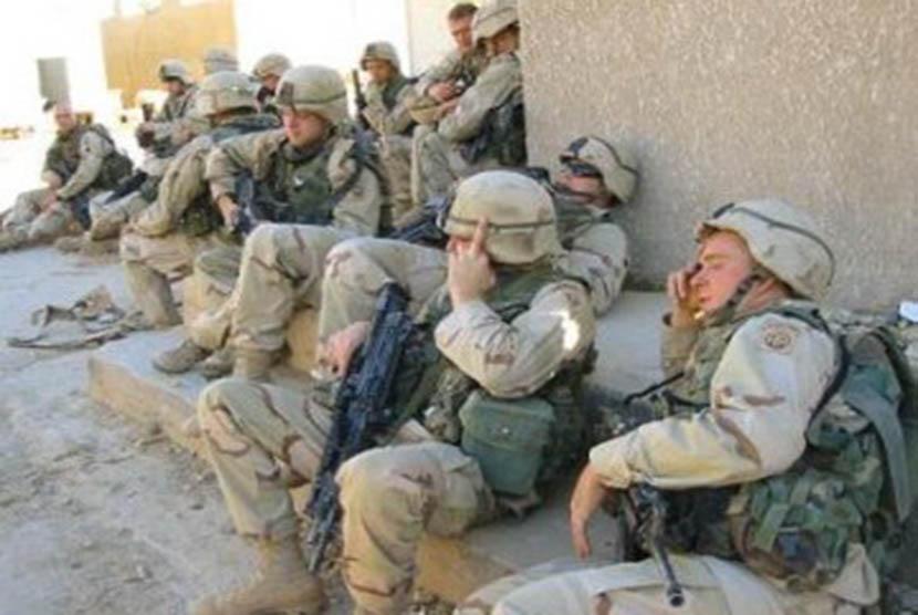 Pasukan AS di Irak.