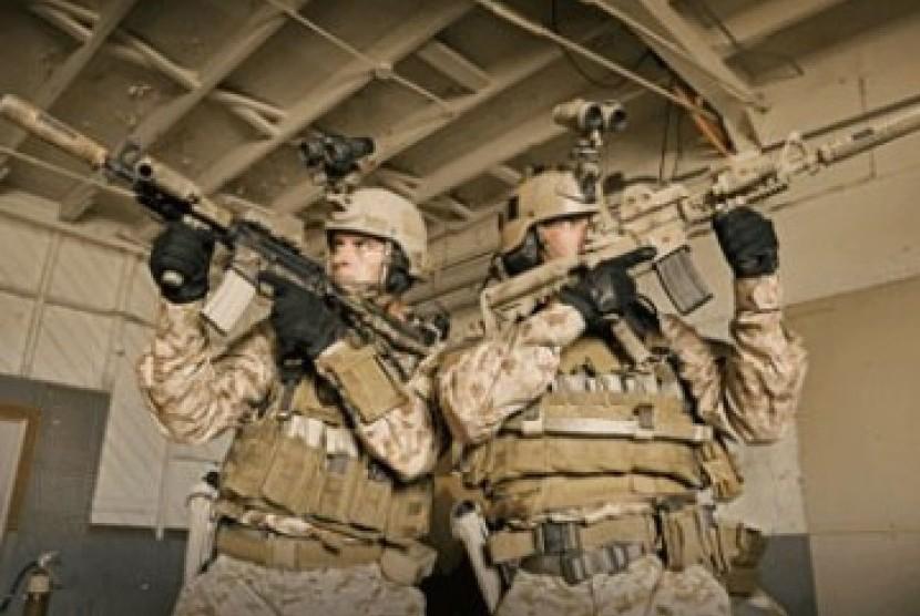 Pasukan khusus Angkatan Laut AS, Navy SEAL, yang disebut-sebut menjadi inti pasukan penyergap yang menewaskan Osama bin Laden
