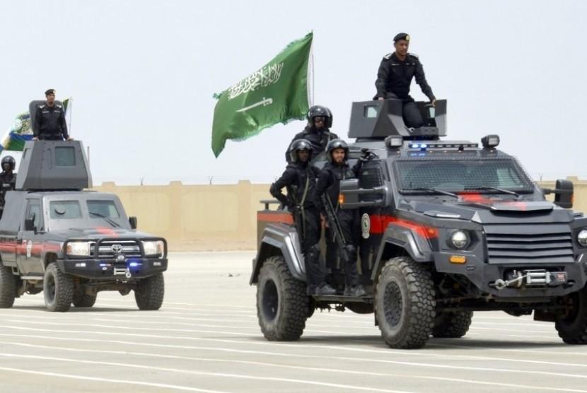 Pasukan Khusus anti teror Arab Saudi.