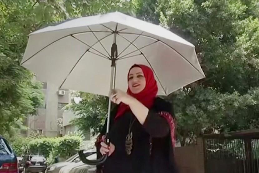Payung pintar Kafya