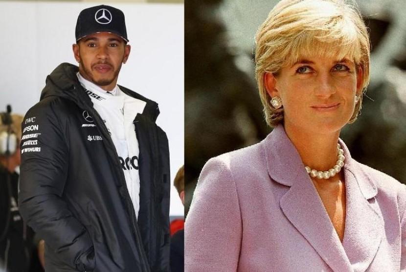 Lewis Hamilton Tulis Puisi Peringati 20 Tahun Kematian Diana