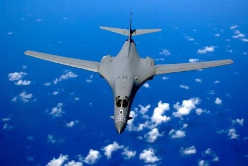 Pesawat Pembom jenis B-1 Milik AS (Ilustrasi)