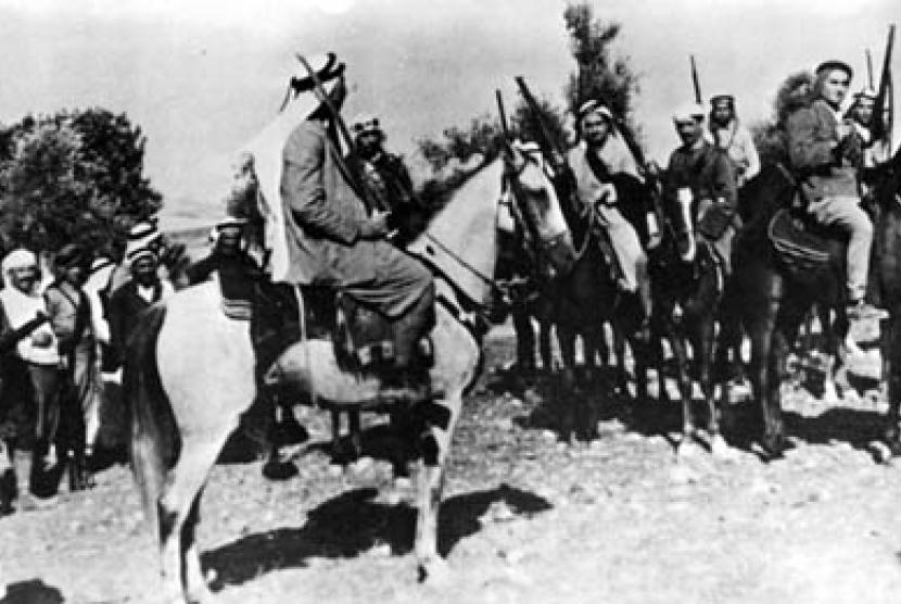 Pejuang Arab saat Perang Arab-Israel Pertama