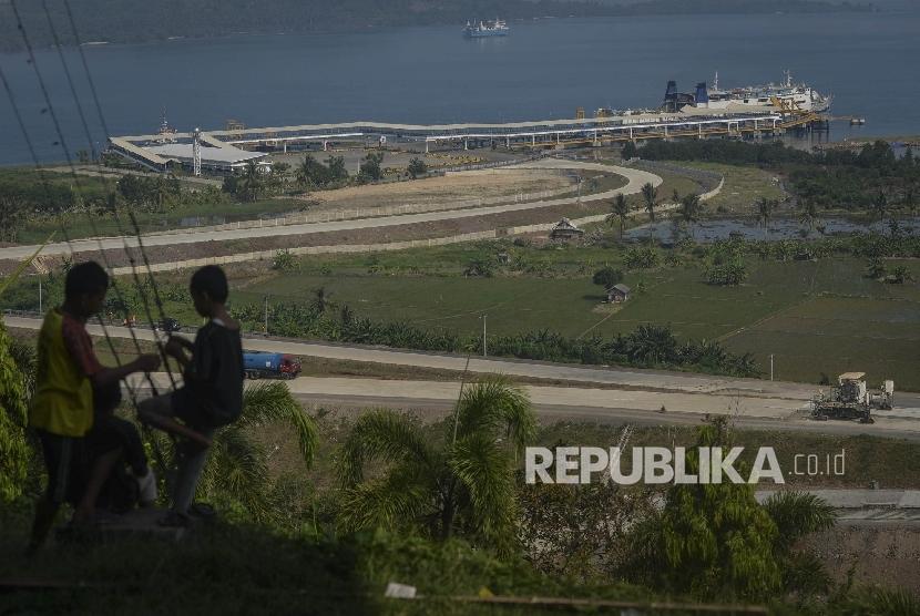 Peresmian Jalan Tol dan Bandara di Lampung Ditunda