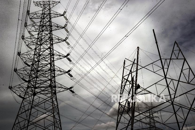 Jaringan listrik. (ilustrasi).