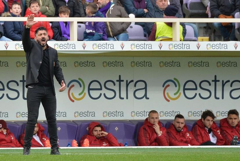 Gattuso Yakin Milan Finis Empat Besar