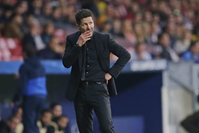 Atletico Madrid tak akan Lepas Simeone