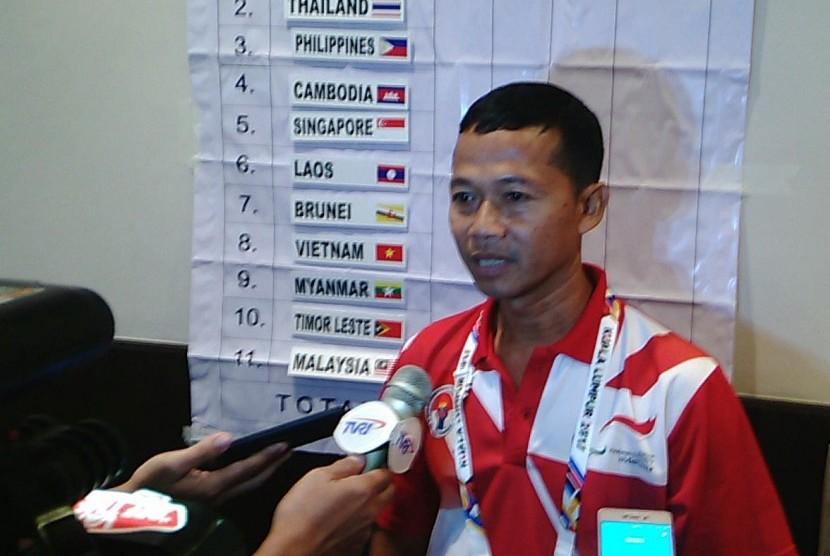 Indonesia Juara Umum Atletik ASEAN Para Games