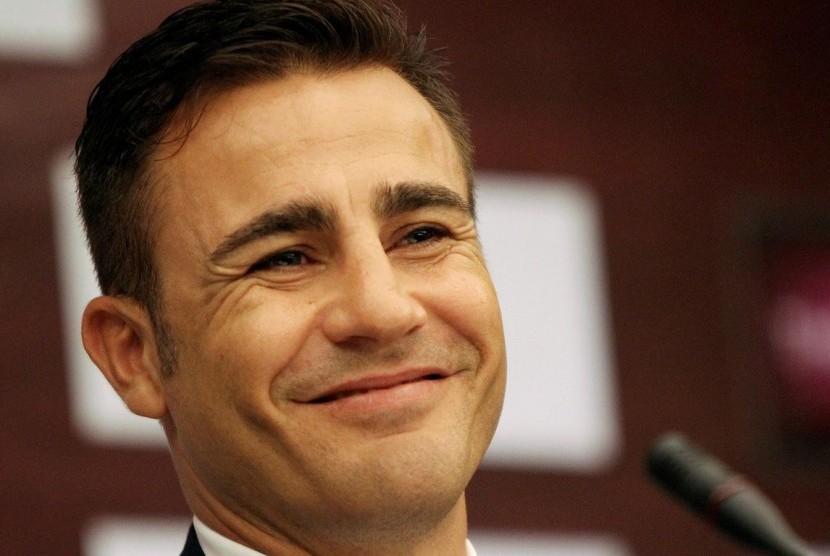 Pelatih Fabio Cannavaro.