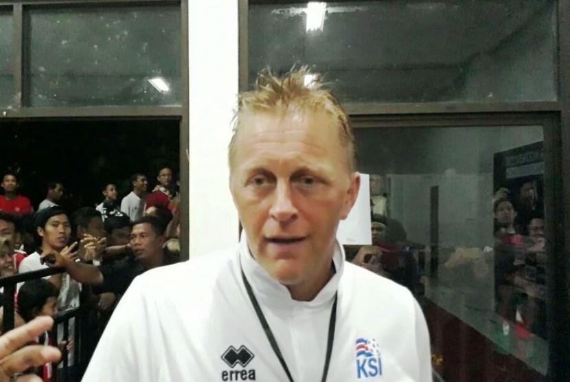 Pelatih Islandia Heimir Hallgrimson