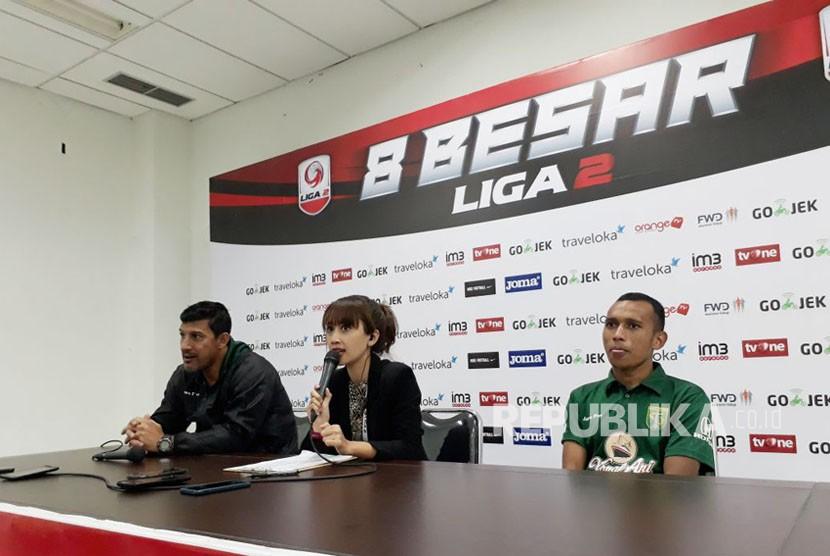 Promosi ke Liga 1, Posisi Pelatih Persebaya, PSMS, PSIS Aman