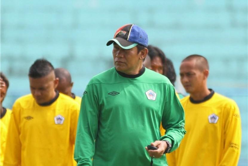 Pelatih Mitra Kukar Beberkan Rahasia Sukses Menahan Imbang Sriwijaya FC