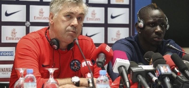 Pelatih PSG Carlo Ancelotti
