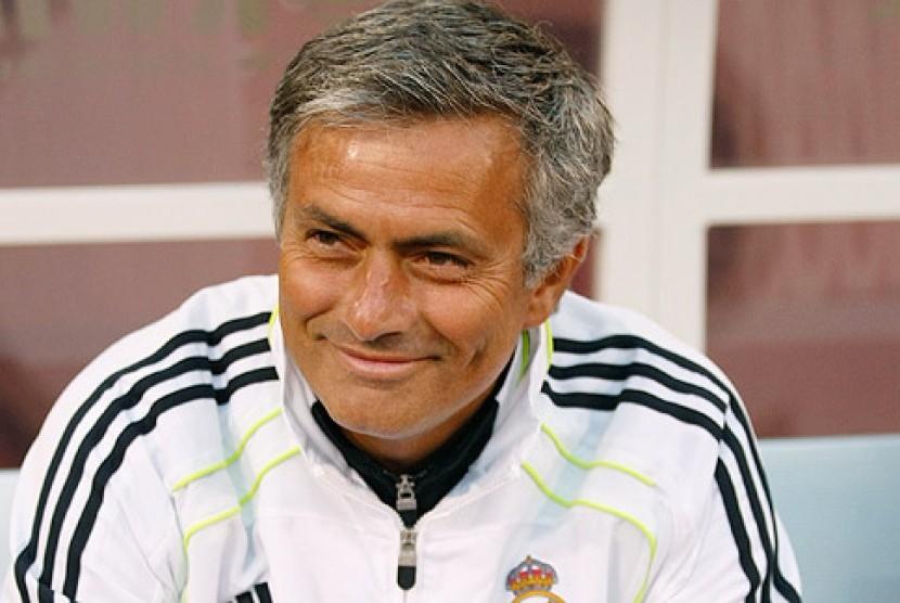 Pelatih Real Madrid, Jose Mourinho.