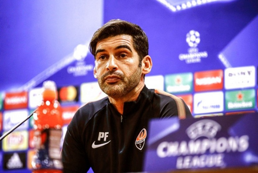 Pelatih Shakhtar Donetsk Paulo Fonseca